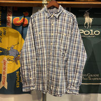 【Web限定】POLO SPORT sportsman check shirt (L)
