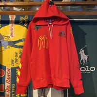 adidas × McDonald's logo hoodie (2XO)