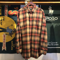 POLO JEANS  RALPH LAUREN pocket check shirt (XL)