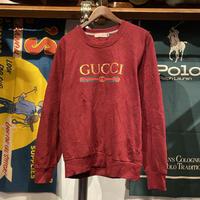 bootleg GUCCI logo sweat (L)