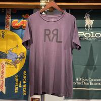 RRL logo print tee (L)