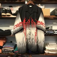 725 ORIGINALS fire pattern shirt (XL)