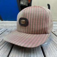 Supreme emblem stripe adjuster cap