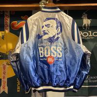 BOSS gradation stadium jacket (L)