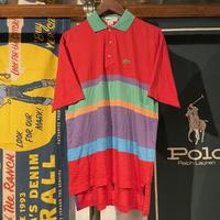 LACOSTE WANI logo polo shirt (M)