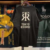 TOKYO RECORDS logo tee (XL)