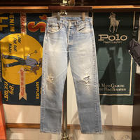 "Levi's damaged ""501XX"" Denim pants (32)"