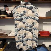 Japanese Hokusai 神奈川沖浪裏 shirt (L)