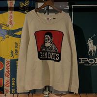 【web限定】BEN DAVIS wool sweater (L)