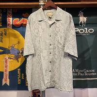 JAMAICA JAXX silk aloha shirt (XL)