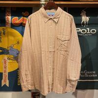 Levi's check pattern shirt (XL)