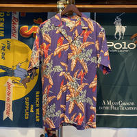 PARADISE FOUND bird aloha shirt (L)