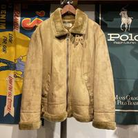 KANSAI JEANS fur jacket (L)