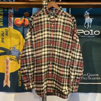 POLO RALPH LAUREN classic fit check shirt (L)