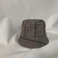 check bucket hat
