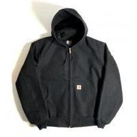Carhartt Thermal Lined Duck Active Hoodie Jacket Black