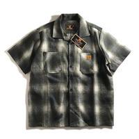 FB County Short Sleeve Wool Shirts - Olive