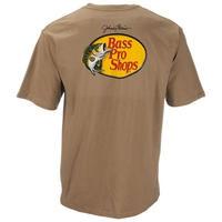 BASS PRO SHOPS LOGO TEE - SAND
