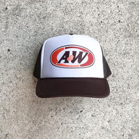 Trucker Hat A&W Root Beer - Brown/White