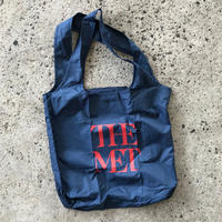 THE METROPOLITAN MUSEUM OF ART NYLON TOTE BAG - NAVY