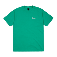 DIME CLASSIC LOGO EMBROIDERED T-SHIRT-EMERALD