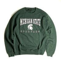 Colosseum Michigan State Spartans Crewneck Sweat - Green