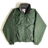 GAME Sportswear Fleece Lining Warm Up Jacket - Green