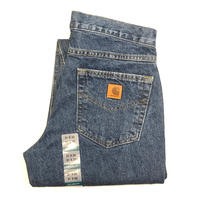 CARHARTT RELAXED-FIT TAPERED-LEG JEAN - Darkstone