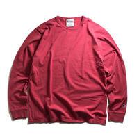 Champion Garment Dyed Long Sleeve Tee-  Crimson