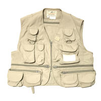 USED Wood Field Fishing Vest