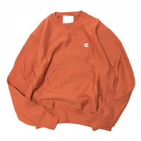 CHAMPION REVERSE WEAVE CREW NECK - Burnt Orange