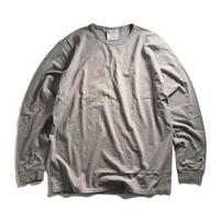 Champion Garment Dyed Long Sleeve Tee-  Concrete