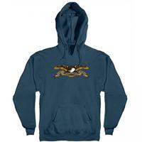 Anti Hero Eagle Pullover Hoody  - Slate Blue