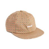 ONLY NY Core Logo Polo Hat - Khaki Plaid