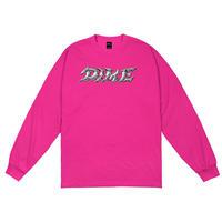DIME BLADE LONGSLEEVE SHIRT-PINK