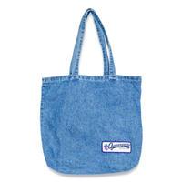 Quartersnacks Denim Grocery Tote - Medium Blue