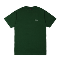 Dime Classic Small Logo T-Shirt - Forest