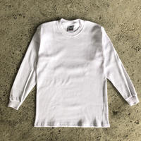 PRO CLUB THERMAL LONGSLEEVE TEE - WHITE