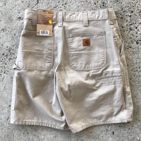 CARHARTT CELL PHONE WORK SHORT B144 - TAN