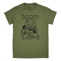 DOOM SAYERS Kill Television Tee - Military