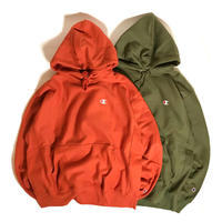 Champion Reverse Weave® Hoodie - Cargo Olive/Brunt Orange