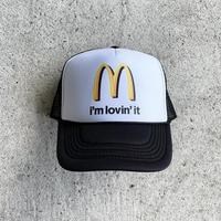 Trucker Hat I'm lovin' it - Black/White