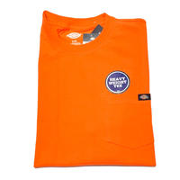 DICKIES Short Sleeve Heavyweight T-Shirt - Orange