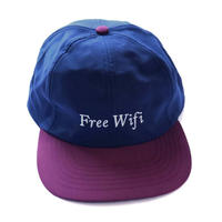 FREE WIFI 2 TONE HAT - Navy/Red