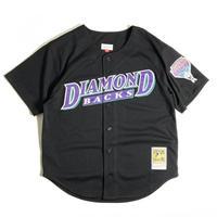 Mitchel & Ness Authentic BP Button Front Jersey - Arizona Diamondbacks Randy Johnson