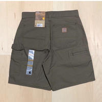 CARHARTT CELL PHONE WORK SHORT B144 - LIGHT BROWN