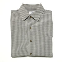 CROFT & BARROW S/S SHIRT - GRAY KHAKI