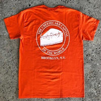 JUNIOR'S CHEESE CAKE TEE - DEEP ORANGE