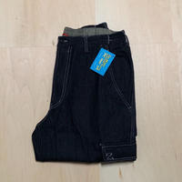 HABAND ERASTIC DENIM 6P PANTS-Black