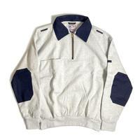 GAME Sportswear Defender Work Sweatshirt - Ash/Denim
